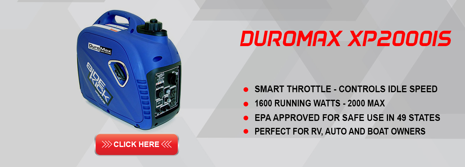 duromax xp2000is portable generator